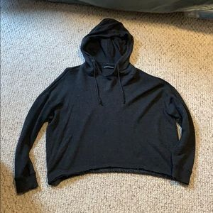 Brandy melville crop hoodie
